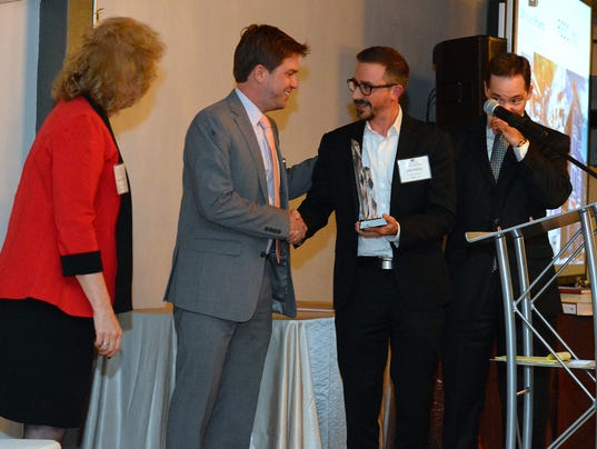 Hankey receives 10,000 Friends of Pennsylvania award