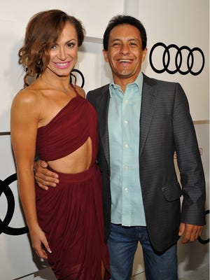 Victor Espinoza attends the Audi Celebrates Emmys Week 2015 at Cecconi's Restaurant on September 17, 2015 in Los Angeles, California.