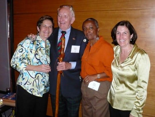Barb Kinney, John Quinn, Dixie Vereen and Barb Ries