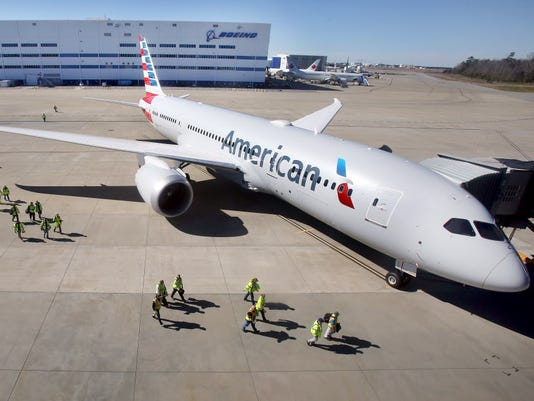 AP BOEING 787 DREAMLINER F A USA SC