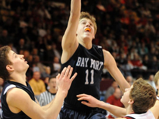 Marcus Ruh, a 2009 Bay Port graduate, is playing professional basketball in Australia.
