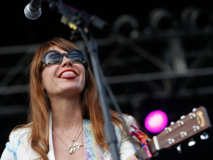 Jenny Lewis performs Friday, July 10, 2015, at the