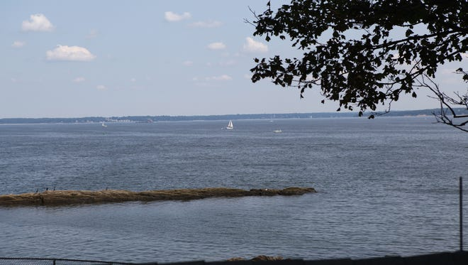 A view of the Long Island Sound.