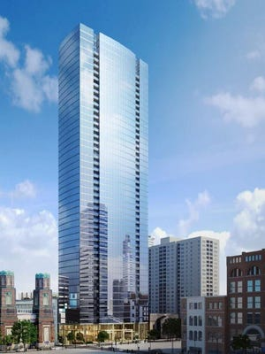 The 505 tower will be downtown Nashville's tallest high-rise.