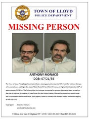 Town of Lloyd police issued this missing person's alert
