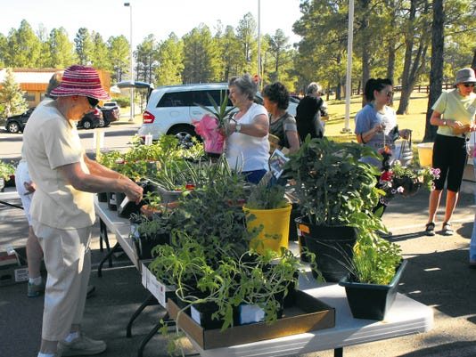 The Lincoln County Garden Club's annual plant sale will be Saturday, June 13, at 9 a.m. at the Ruidoso Public Library parking lot. House plants, herbs and flowers will be available. Proceeds from the plant sale are spent on community gardens and donations.