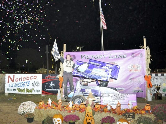Ross Perchak was the winner of the 270 Micro Sprint National Open race Saturday at Linda's Speedway.