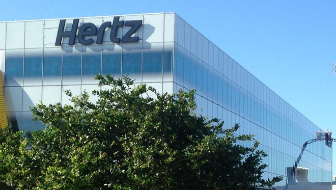 About 650 employees will soon move to the new Hertz global headquarters.