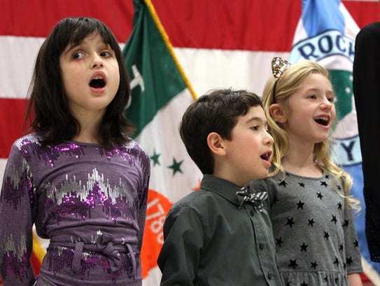 Members of the Lower Hudson Valley Youth Chorus sing