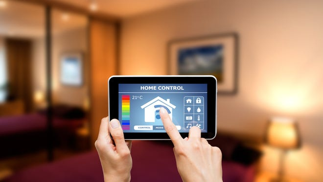 Devices are aware of other devices, via the home's Wi-Fi network, and those devices are doing things that anticipate human behavior inside and outside a home.