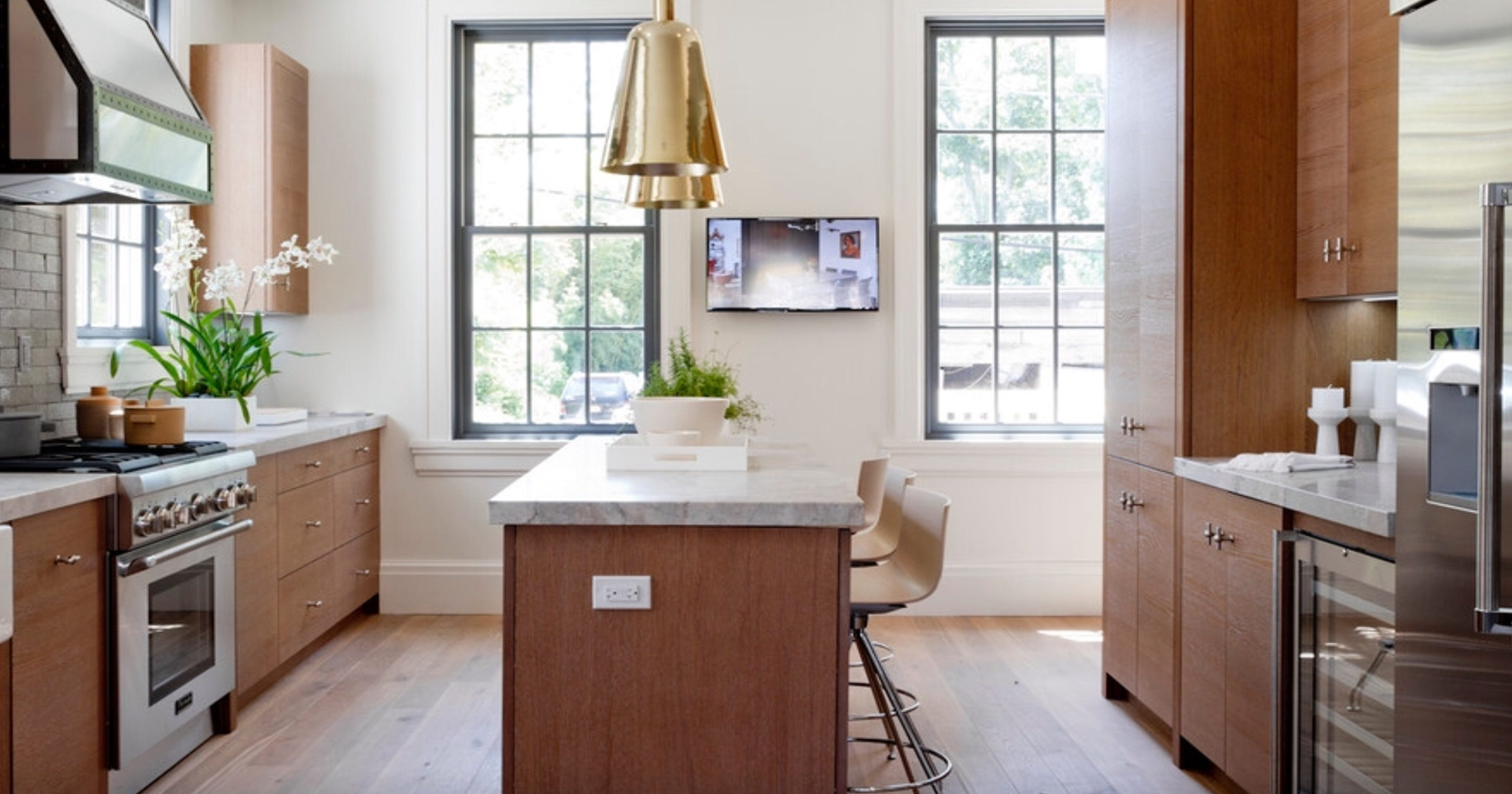 Kitchens getting more modern, less fussy