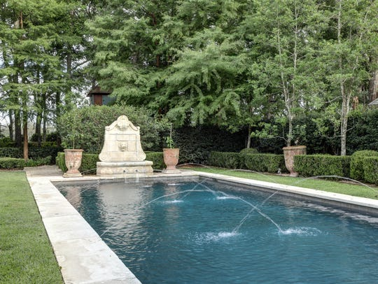 The pool and gardens are perfect for relaxation.