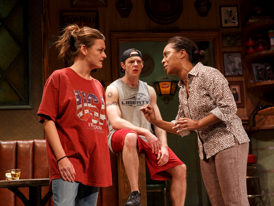 """""""Sweat"""" is one of the nominees for best play."""