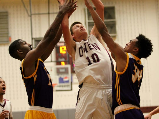 Mathew Brown scored a career-high 33 points against North Henderson in Owen's season opener.