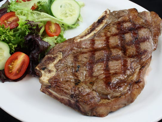 The Greene Turtle's char-grilled New York stip will