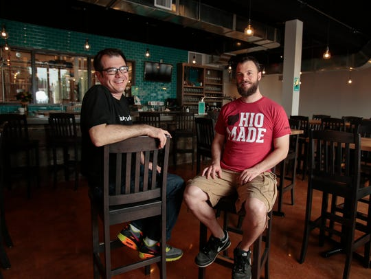 Nine Giant brewery co-owner and brewer Mike Albarella