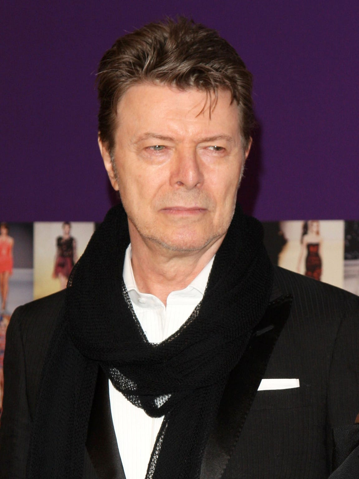 David Bowie, shown in this 2010 file photo died in