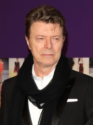 David Bowie, shown in this 2010 file photo died in January after battling cancer for 18 months. He was 69.