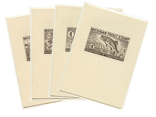 These cards will appeal to anglers, stamp collectors