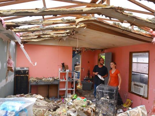 Hurricane Irma Sunday Monday morning