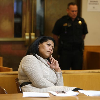 Rochester City Court Judge Leticia Astacio during a