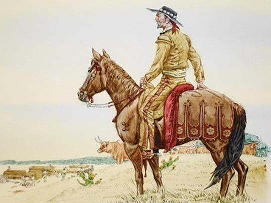 Don Martín would become Texas' first cattle baron.  He raised cattle, goats, mules and horses. By 1816, he owned nearly six thousand head of cattle. Don Martín had a reputation for owning the best horses in Texas and his mules were in constant demand.