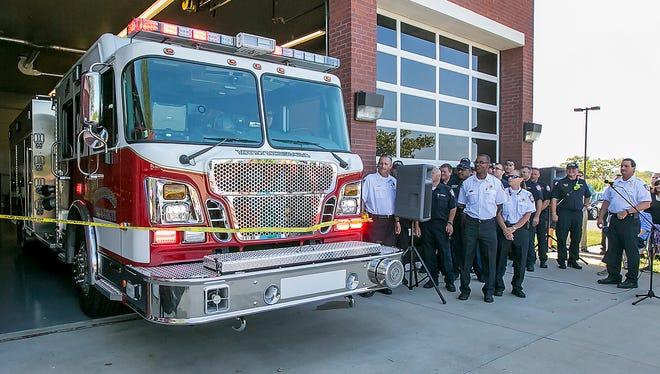 Murfreesboro Fire and Rescue firetruck