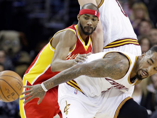 Corey Brewer, J.R. Smith