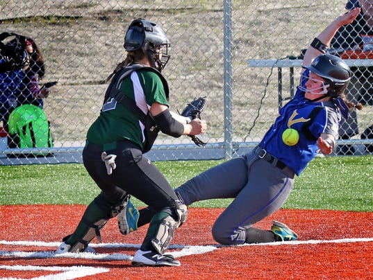 New Berlin West Softball at Wauwatosa West