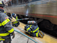 Wilmington Fire Department responds to an Amtrak that