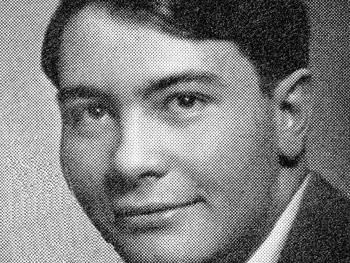 1949: Jim Jones in his Indiana high school yearbook