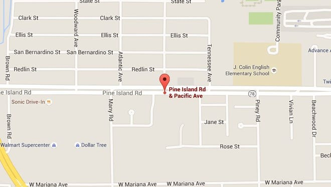 A crash has closed Pine Island Road in both directions on Thursday, July 7, 2016.