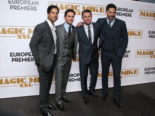 Joe Manganiello, Adam Rodriguez, Channing Tatum, Matt Bomer