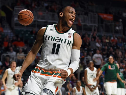 NCAA Basketball: North Carolina State at Miami