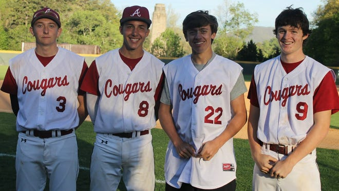 David Head (8)  was the winning pitcher for Asheville High on Wednesday.