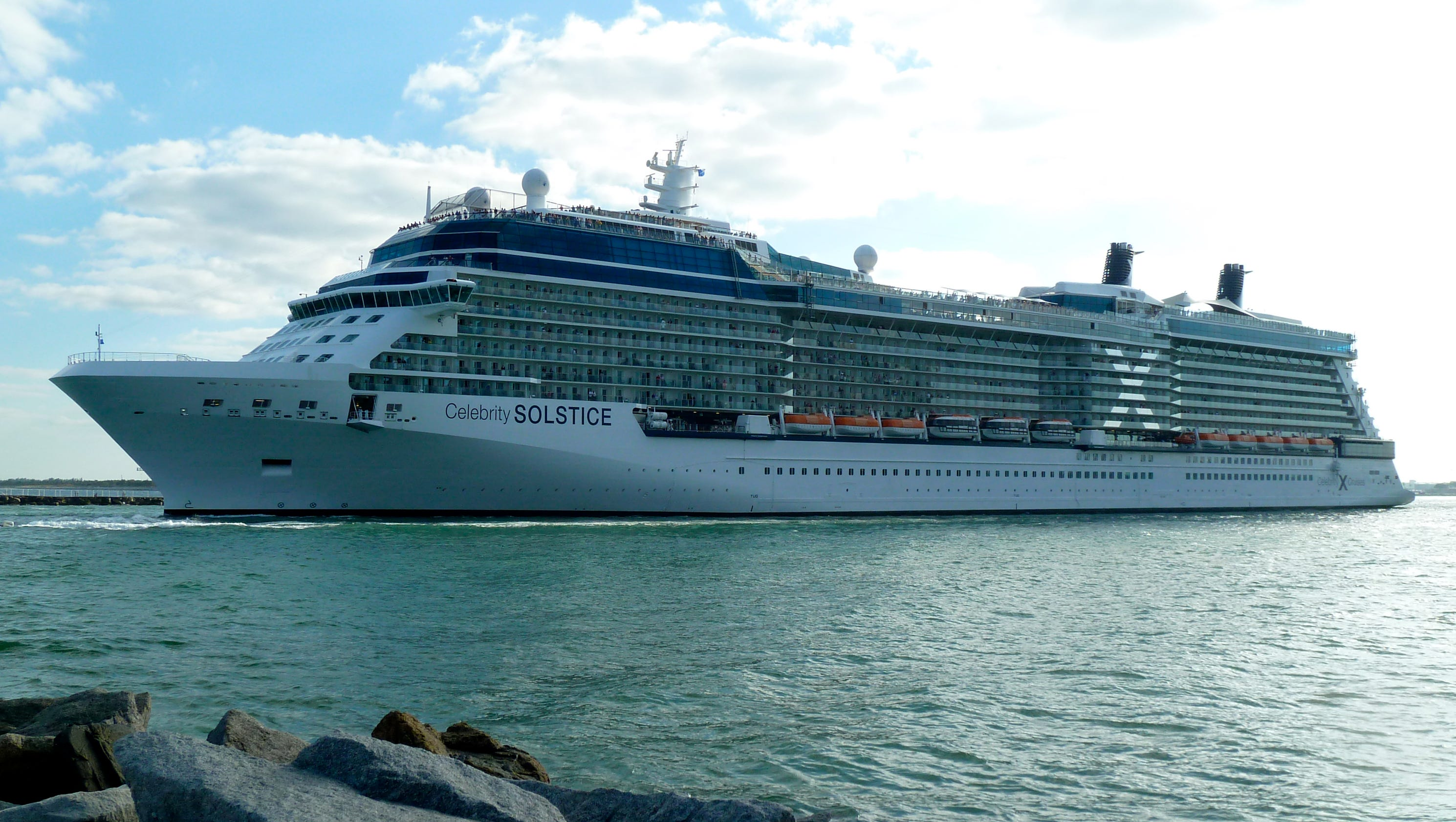 Celebrity solstice in brisbane today