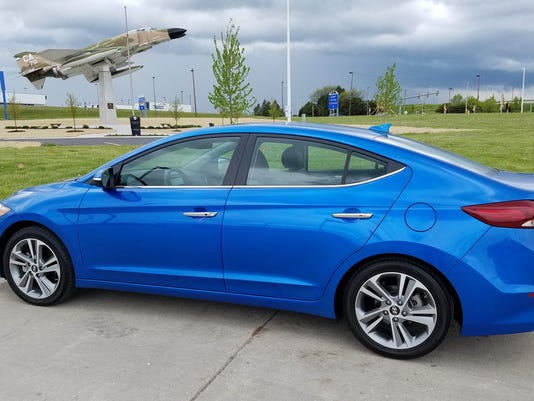 Savage on Wheels: 2017 Hyundai Elantra Limited milder, but ...