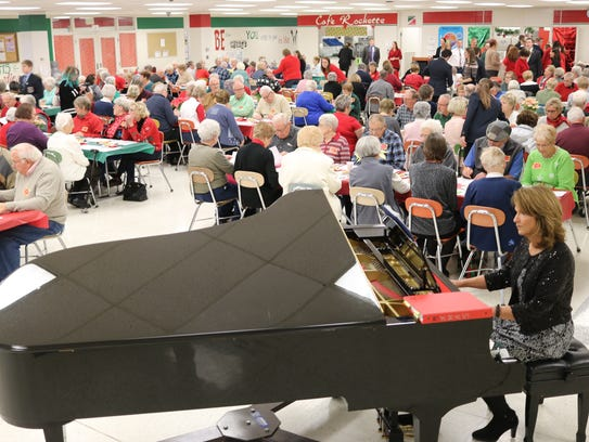 Hundreds of senior citizens were treated to holiday