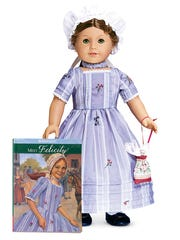 American Girl doll Felicity Merriman