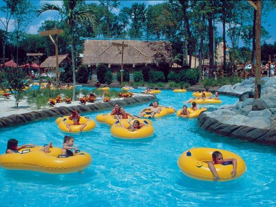 Take a dip at Hurricane Harbor at Six Flags.