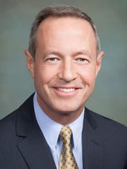 Former Maryland Gov.Martin O'Malley is one of tthe