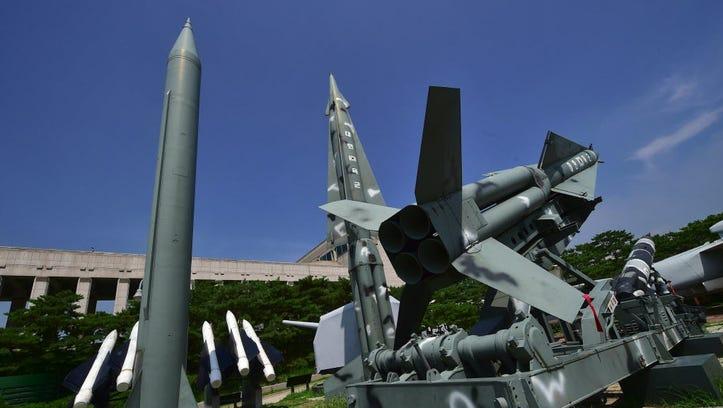 Provocative North Korea fires 3 missiles into sea