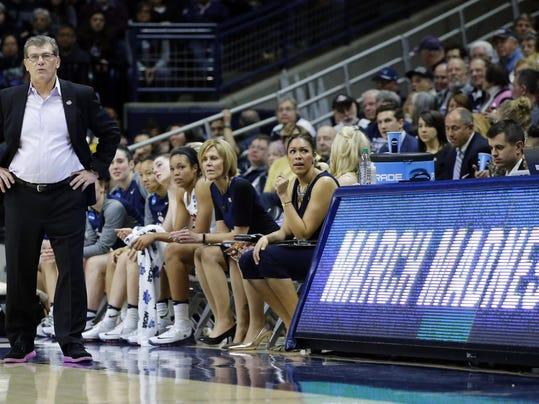NCAA Womens Basketball: NCAA Tournament-Second Round-Connecticut vs Duquesne