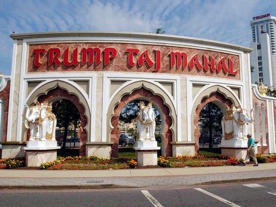 The Trump Taj Mahal in Atlantic City, N.J., shown in