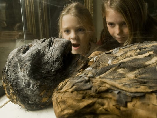 The Egyptian mummy is a popular attraction at the Tennessee