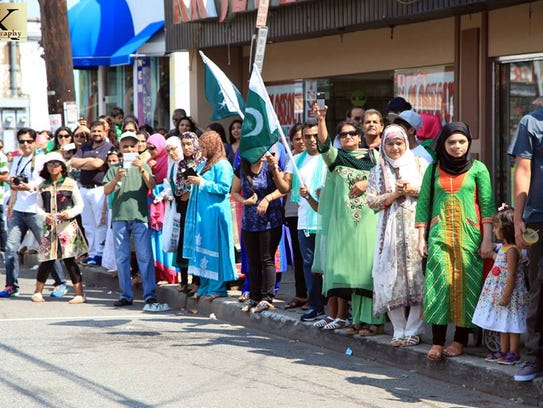 New Jersey's third annual Pakistan Day Parade will