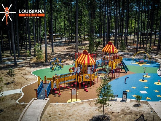 Civitan Smiles Park is the newest addition at Kiroli