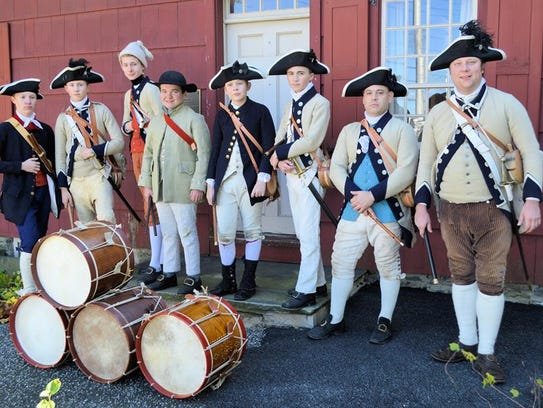 The 3rd New Jersey Regiment Fife and Drum Corps.