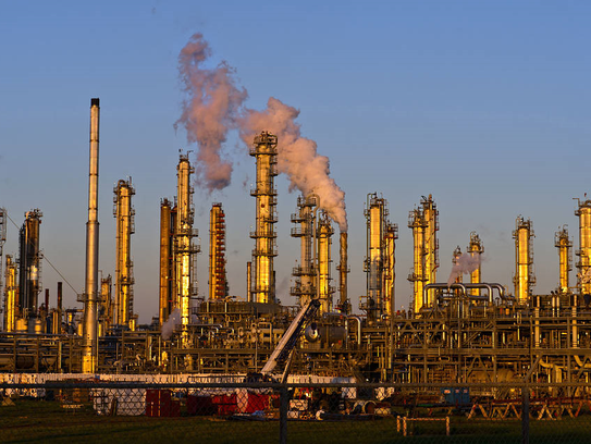 The Flint Hills Resources refinery plants in Corpus