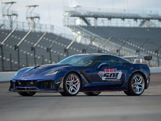 The Corvette ZR1 pace car has been used in 2018 for